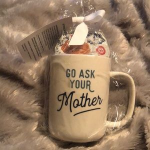 Go Ask Your Mother Mug and Cookie Set